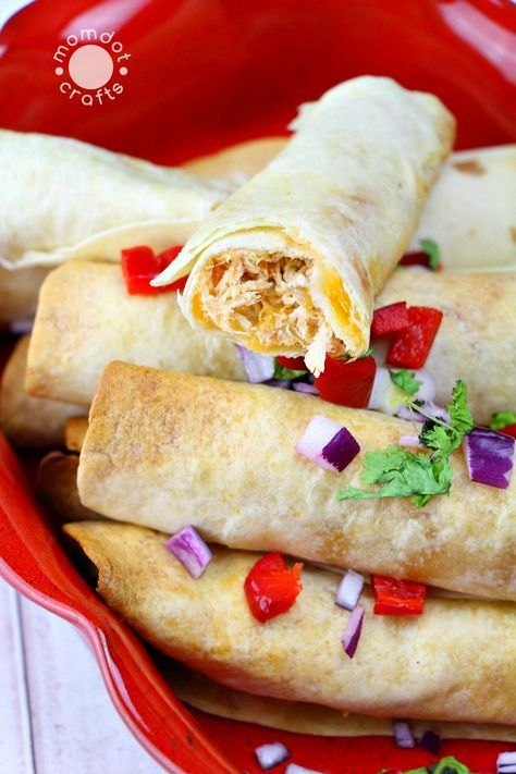 Looking for a slow cooker cream cheese chicken taquito recipe that is homemade? Look no further with these chicken taquitos, made perfectly during the day