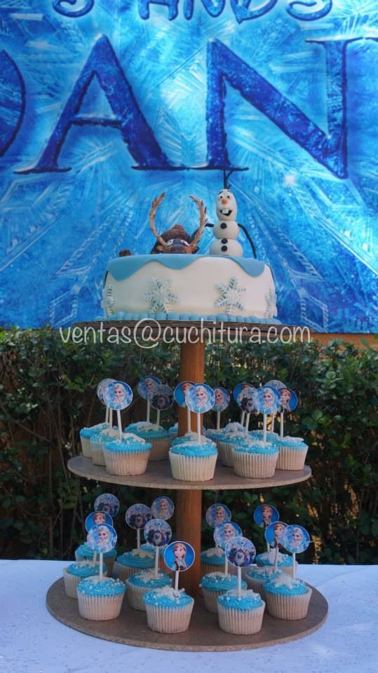 Frozen party frozen fiesta frozen cake frozen pastel - Mesas infantiles disney ...