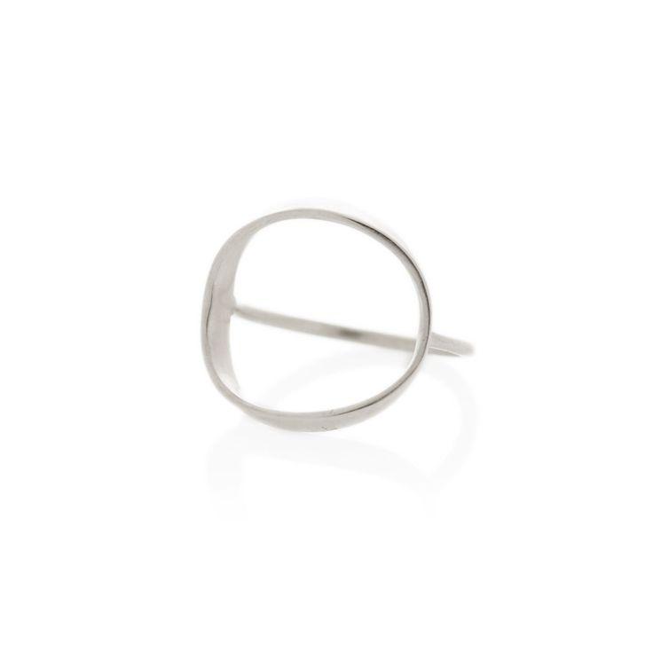 Silver Zwei ring