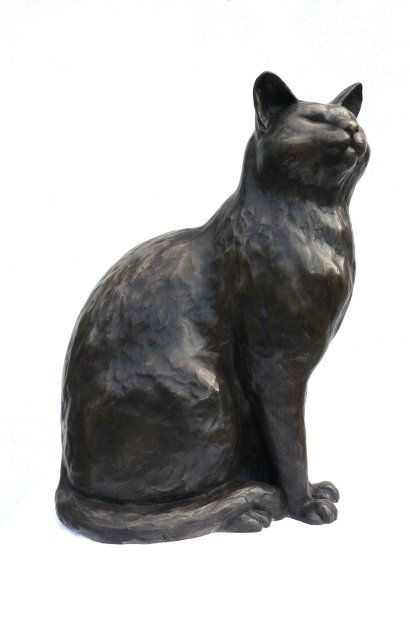 Stone Cat Elevation Profile : Images about cat statues on pinterest cast stone