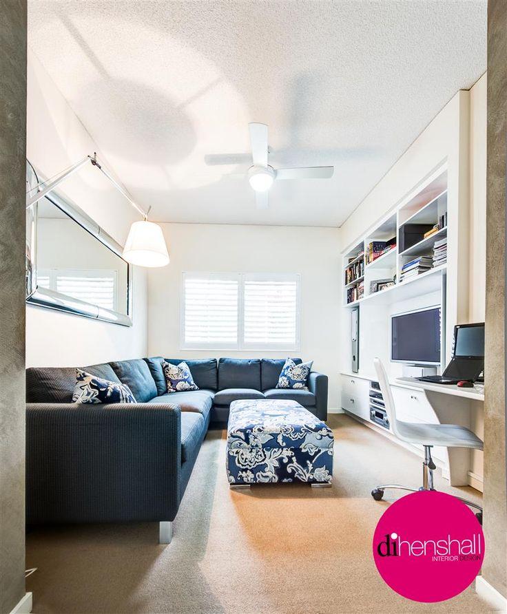 Media Room / Study: Designed by Di Henshall Interior Design