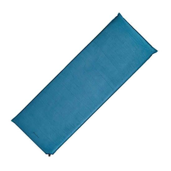 Zelfopblazend slaapmatje voor camping / bivak A300 | 1 persoon blauw - 757583