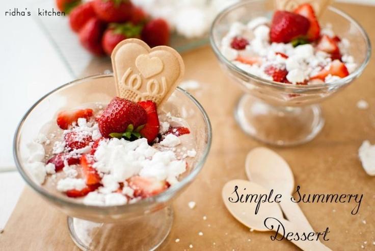 Summery dessert
