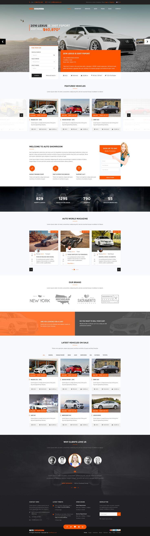 Auto Showroom - Car Dealership WordPress Theme #wordpress #motorcycle #dealer • Download ➝ https://themeforest.net/item/auto-showroom-car-dealership-wordpress-theme/15995336?ref=pxcr