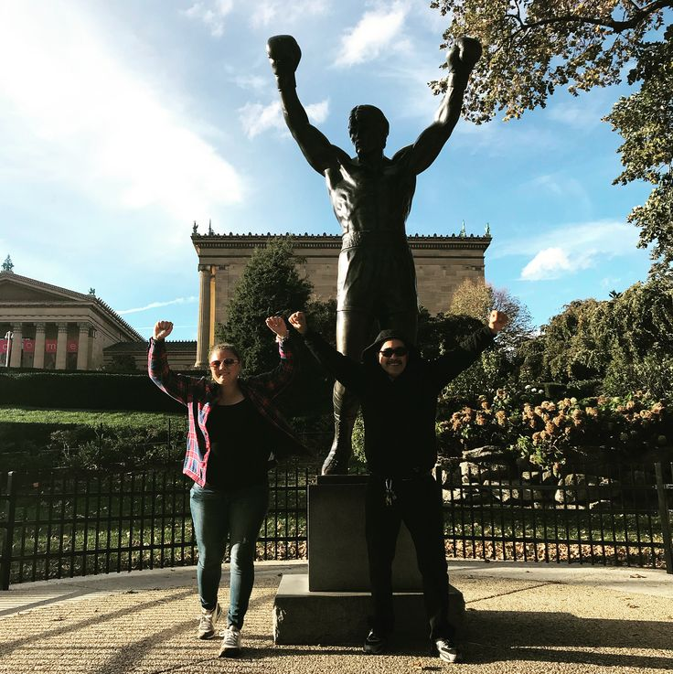 Philly you were an amazing city. From the history to the architecture to the food. Cant wait to come back. . . . . . #Philadelphia #TerrorBehindTheWalls #EasternStatePenitentary #Genos #Pats #Cheesesteak #AmericanHistory #LibertyBell #TombOfTheUnknownSoldier #IndependenceHall #RockySteps #DeclarationOfIndependence #Philly #RoadTrip #PhiladelphiaArtMuseum #CongressHall #DadDaughterTime #PhiladelphiaPhillies #BenjaminFranklinPark #Culture #Freedom #FoundingFathers #Equality #RockyBalboa #Rocky…