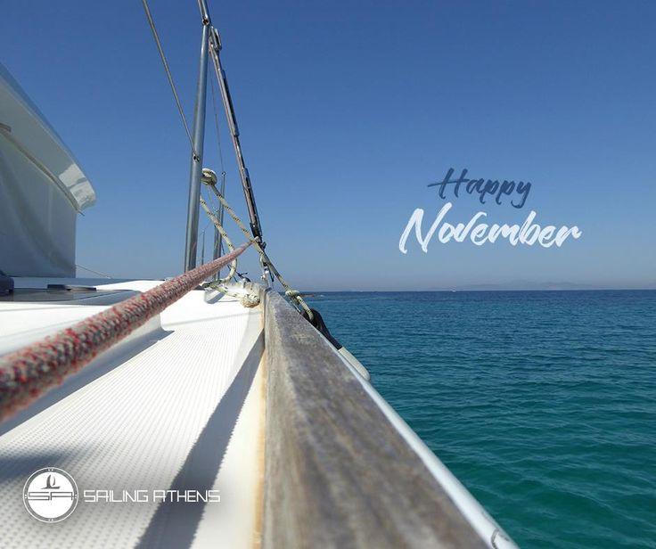 Hello November!  http://www.sailingathens.com      #Sailing #SailingAthens #AthensRiviera #CityScape