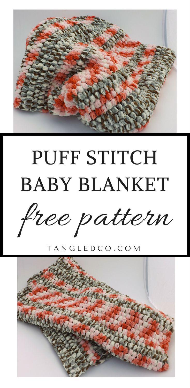 Mejores 135 imágenes de Crochet projects - baby blankets & cocoons ...