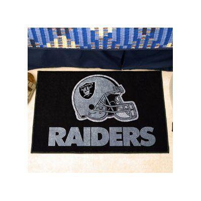 "FANMATS NFL - Oakland Raiders Doormat Rug Size: 2'10"" x 3'8.5"""