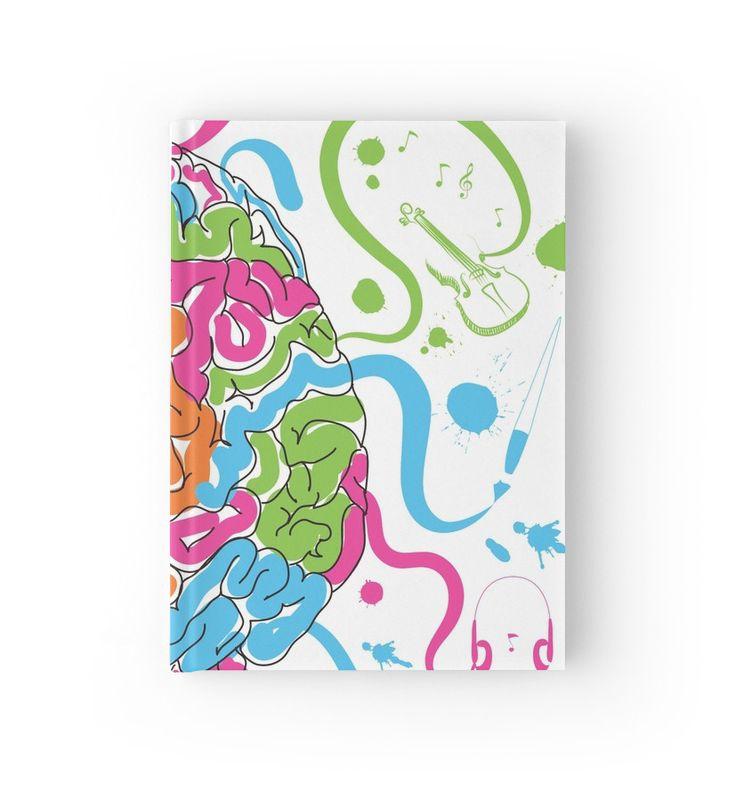 Brain Creativity Illustration by Gordon White | Creative Brain Chemistry Closed Hardcover Journal Available @redbubble @redbubblecreate  ---------------------------  #redbubble #sticker #brain #creative #creativity #chemistry #nerd #geek #cute #adorable #hardcover #journal  ---------------------------  http://www.redbubble.com/people/blackbox23/works/23716610-creative-brain-chemistry?asc=u&p=hardcover-journal&rel=carousel