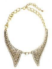 Colier- guler metalic/ metallic collar- Venetian Affair spring collection 2013