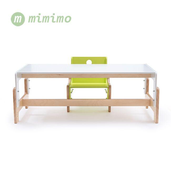 Prodloužená verze dětského rostoucího stolu Mimimo Andílek. #RostouciNabytek #nabytek #deti #zidle #DetskyNabytek #mimimo #detskypokoj #bydleni #interier #stul