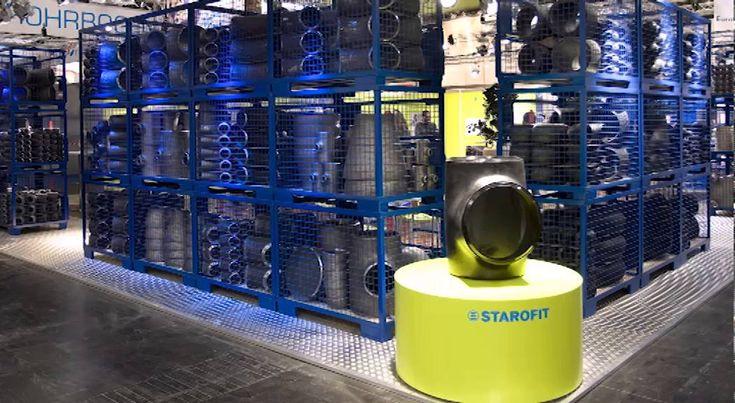 STAROFIT - Messestand für die TUBE Düsseldorf