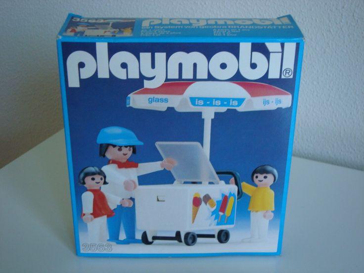 Ice cream cart 80's