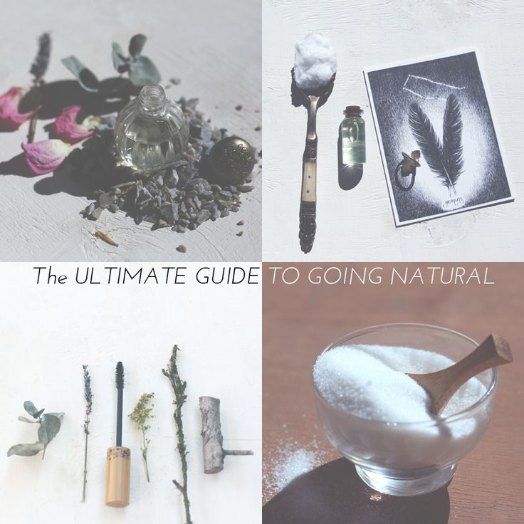 The ultimate guide to going natural.