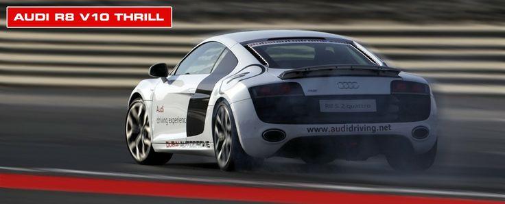 Race an Audi at Dubai Autodrome