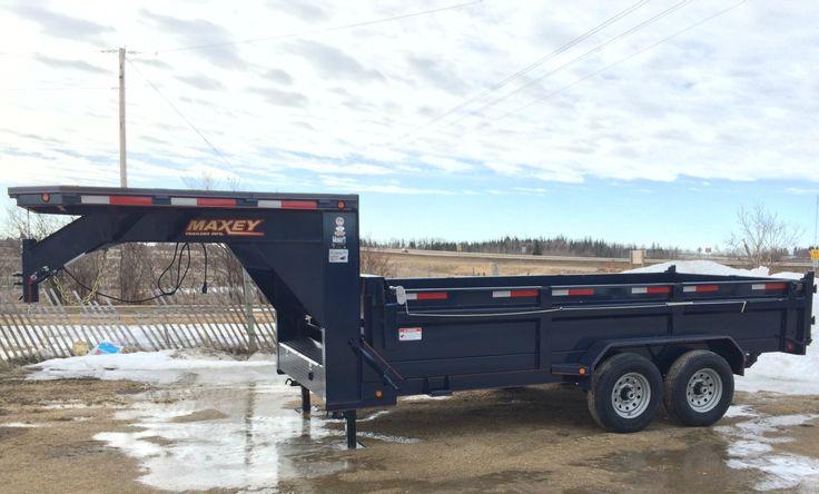 DumpBox Gooseneck 35833 16' x 83 14K trailer-9