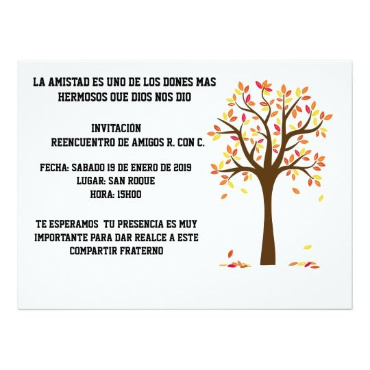 Invitación Reunión Fiesta O Acontecimiento De Familia De La