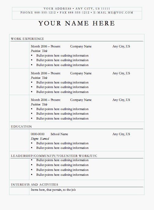 The 25+ best Basic resume examples ideas on Pinterest Employment - resumes references examples