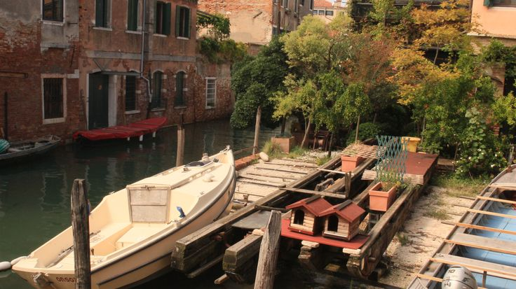 Squero dei Muti - where people used to build the typical Venice boats