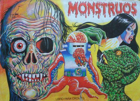 Album cromos Monstruo