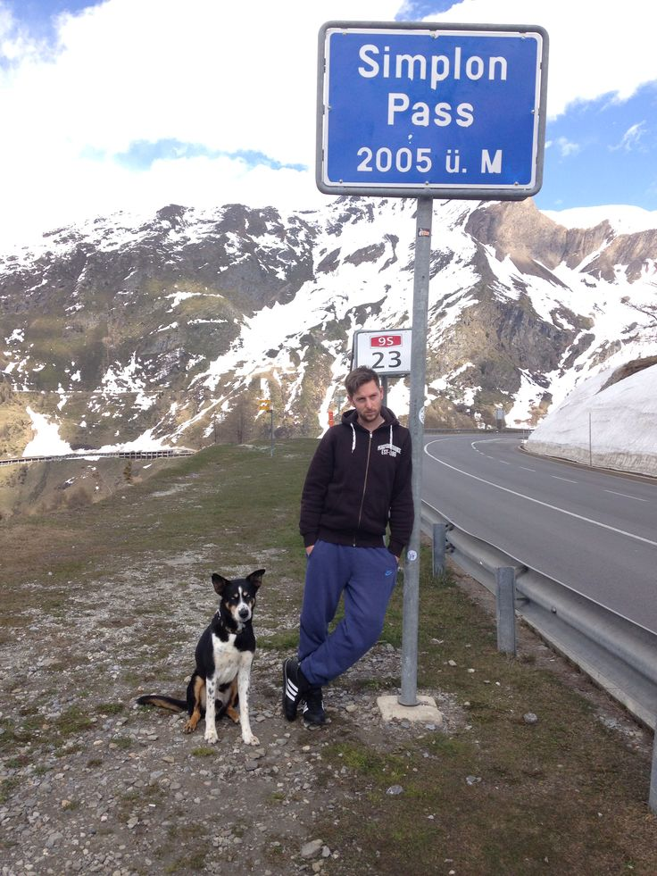 Simplon pass to Valais