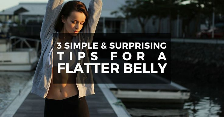 Here are 3 hidden tips to get a slimmer waist and flatter belly quickly that you probably don't know. Click to learn more and get our free follow-along 5 minutes bedtime routine for a flatter belly.