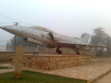 HAL HF-24 Marut.  The aircraft participated in the BATTLE OF LONGEWALA (Dec 1971) - Wikipedia