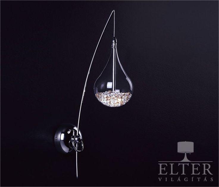 Lámpatípusok - Beltéri világítás - Fali lámpa - Zuma Perle falikar