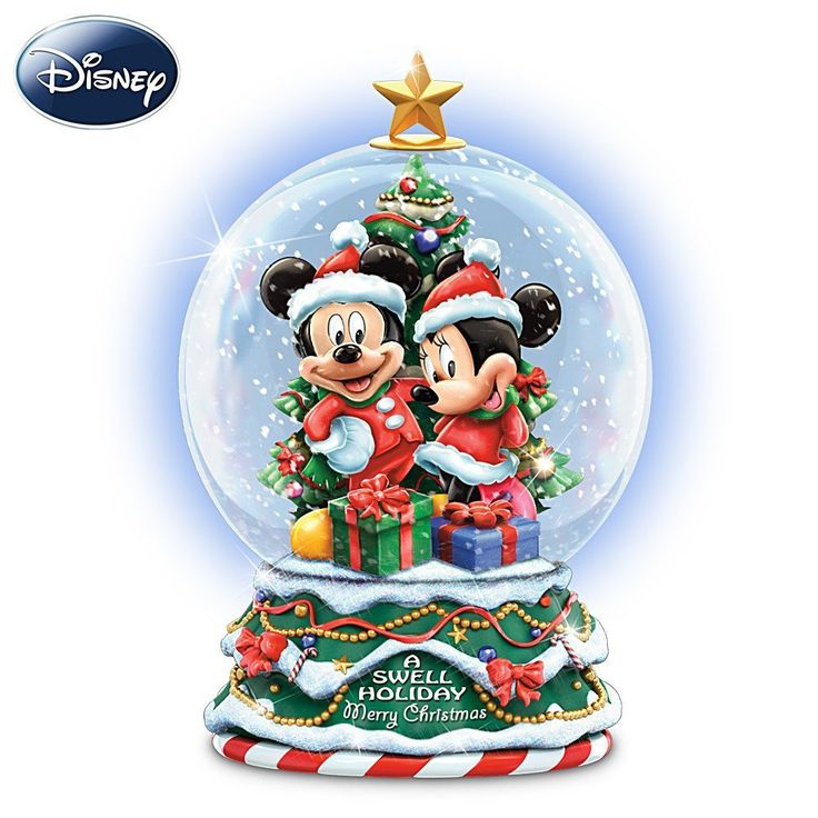 #Disney A Swell Holiday Miniature Snowglobe by The ...