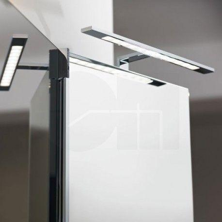 Φωτιστικό καθρέπτη LED IMENE αλουμινίου χρώμιο