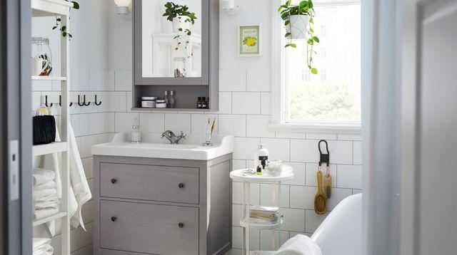 Les 25 meilleures id es de la cat gorie remodelage de for Comptoir salle de bain ikea