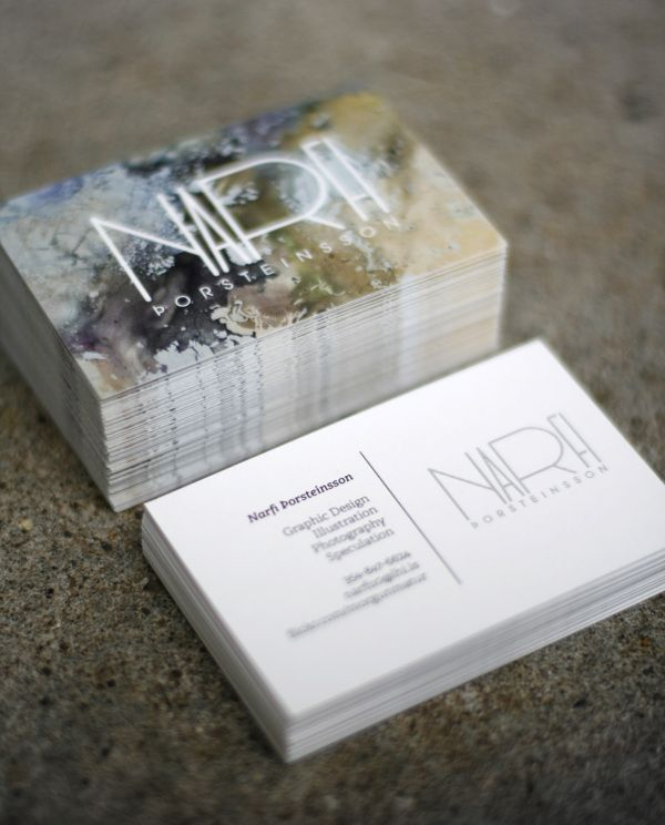 Business Card by Narfi Þorsteinsson
