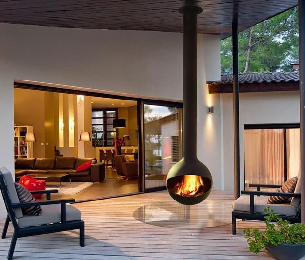 Best 20 Hanging fireplace ideas on Pinterest Floating fireplace