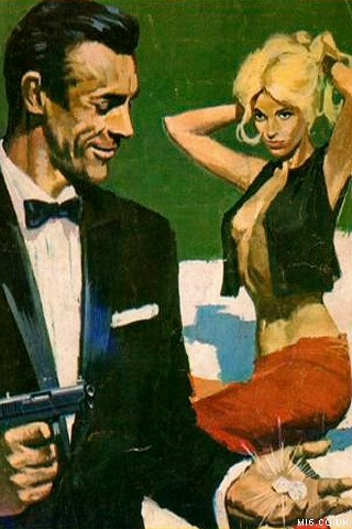 Semic James Bond Comic Book Cover from Sweden. (1967)