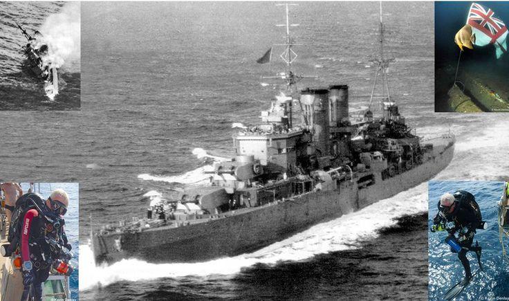 WW2 Shipwreck exploration by Kevin Denlay: \
