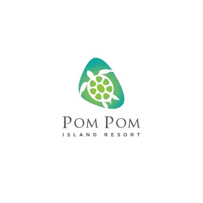 Hire freelance Create logo for Pom Pom Island Resort in Malaysia by Yu_dinata