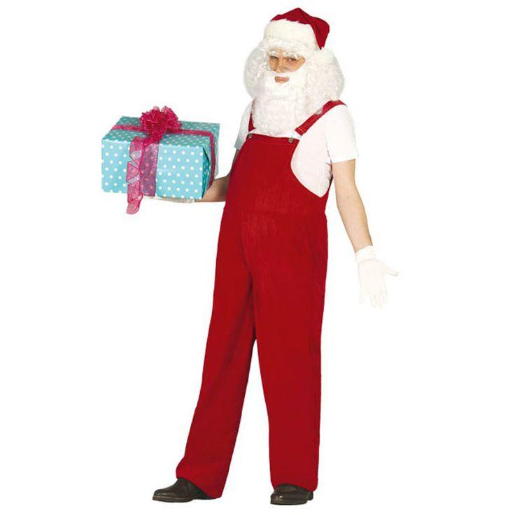 Disfraz de Santa Claus Adulto #disfracesnavidad #disfracesnavideños