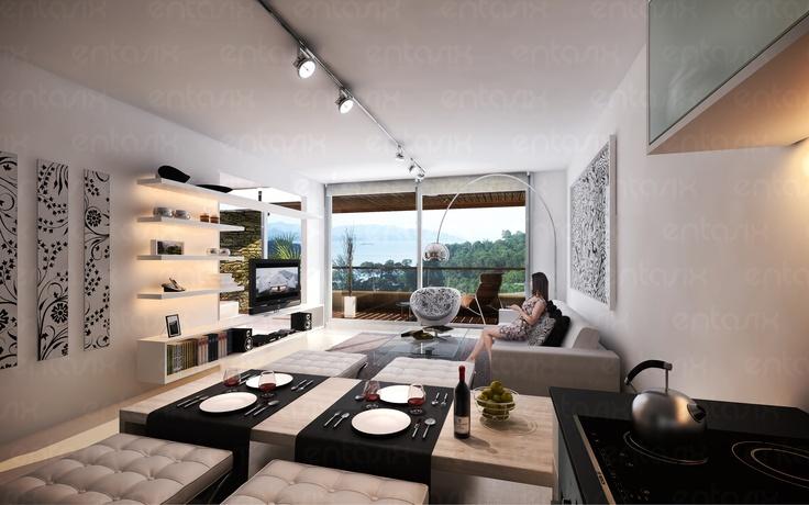 Proyecto Unique - Edificio de viviendas en Punta del Este.