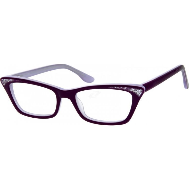 A women's full-rim acetate frame with sparkling star dust on each side of the front rim. The acetate temple arms are reinforced with steel wires to ensure its durability and comfort. This frame also comes with spring hinges.