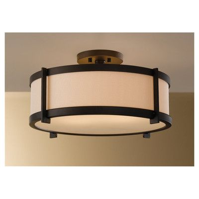 Feiss Stelle Semi Flush Mount | Wayfair to replace the too low ceiling fan in the den.