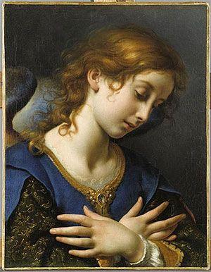 Сфера увлечений. Набор для вышивания `Возвещающий ангел` (Карло Дольчи). Ange de lannonciation. Carlo Dolci. (Набор)