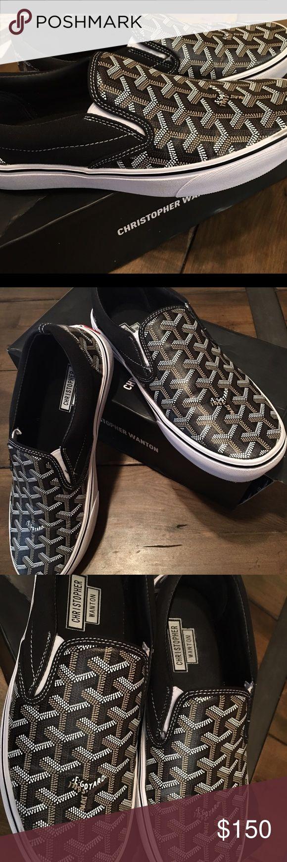 Goyard Vans Christopher Wanton Used ones Goyard Vans unisex 8.5 Mens 10 Womens. Comes with original box Goyard Shoes Sneakers