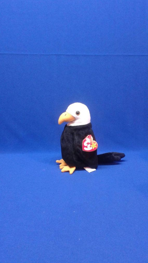 Check out this item in my Etsy shop https://www.etsy.com/listing/234521931/ty-beanie-baby-baldy-the-eagle-plush-toy