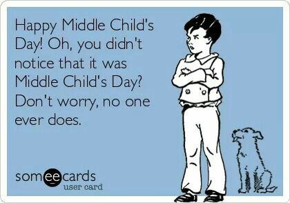 For my Meredith, who reminds me daily she hates being the middle child.