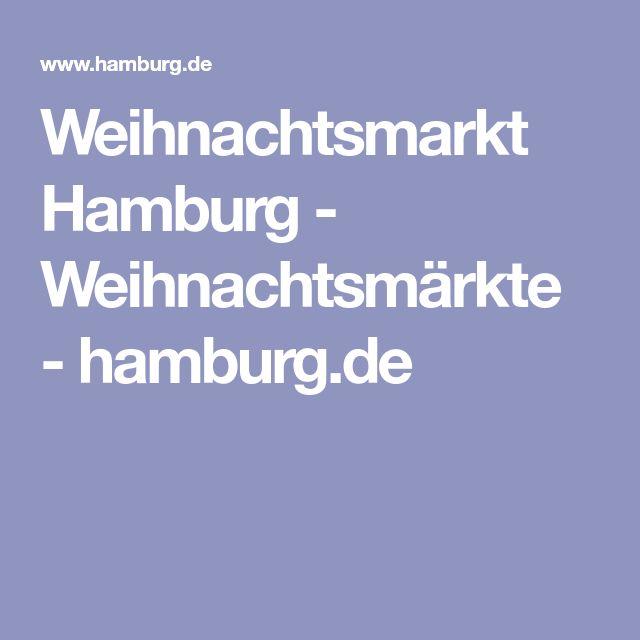 Weihnachtsmarkt Hamburg - Weihnachtsmärkte - hamburg.de