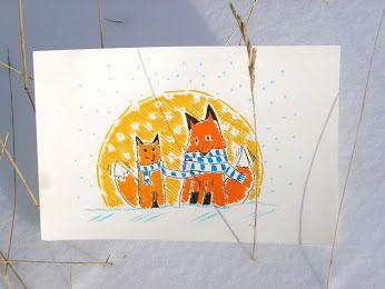 -88: Sciarpa per due: per quando il pelo non basta... Scarf for two: for when the fur is not enough... #fox #animal #love #volpi #snow #scraft