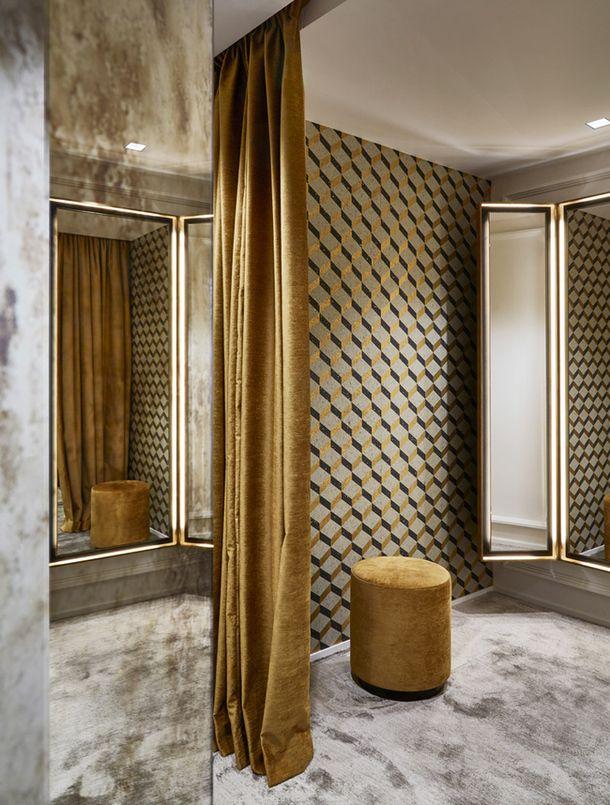 Бутик 55 Croisette в Париже по дизайну Humbert & Poyet