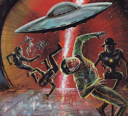 Classic Sci Fi Unforgettable Japanese Pulp Illustrations: 260 Best Flying Saucers. Images On Pinterest