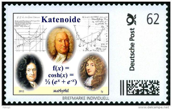 La catenoïde ou chaînette ou catenaria ou fonction cosinus hyperbolique cosh (x).. Leibnitz, Bernouilli et Huygens.