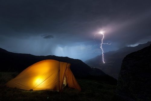 I want this.: Obersaxon, Camping, Outdoors, Switzerland, Lightning Storms, Place, Photography